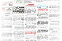 """Skelbimai """"Suvalkiečio"""" laikraštyje"""